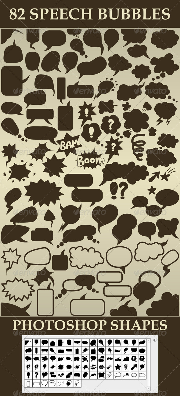 GraphicRiver Set of Speech Bubbles 5713845