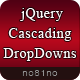 jQuery Cascading DropDowns - CodeCanyon Item for Sale