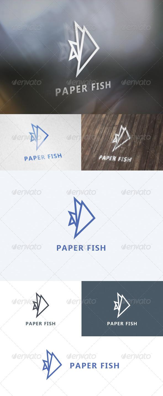 Paper Fish Logo
