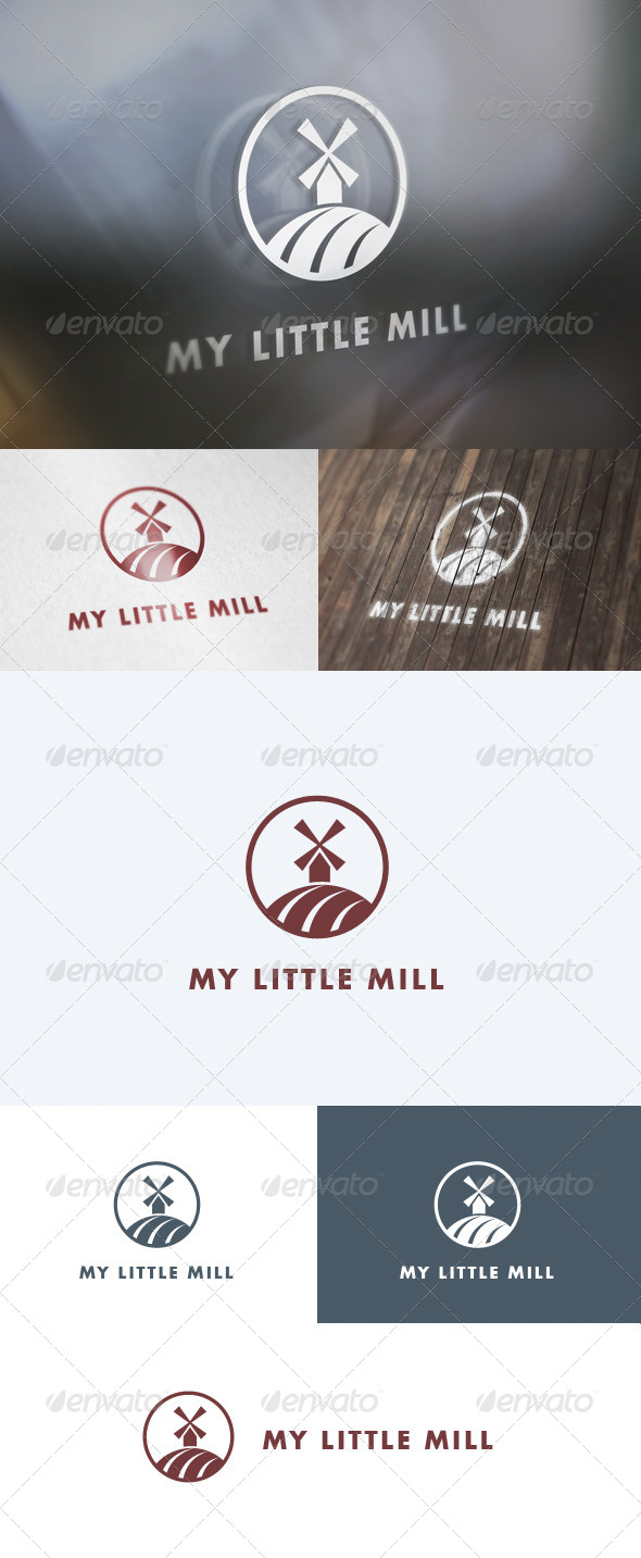 GraphicRiver My Little Mill Logo 5657639