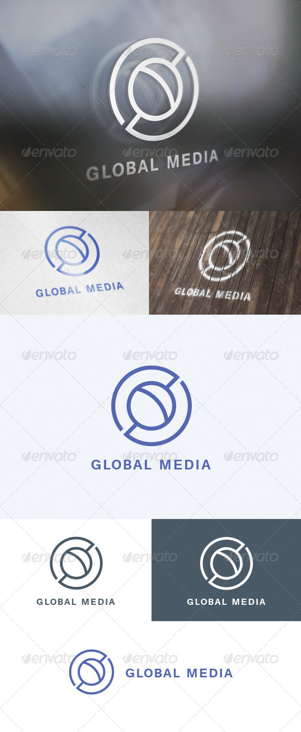 GraphicRiver Global Media Logo 5698607