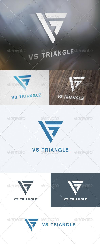 GraphicRiver VS Triangle Logo 5699160