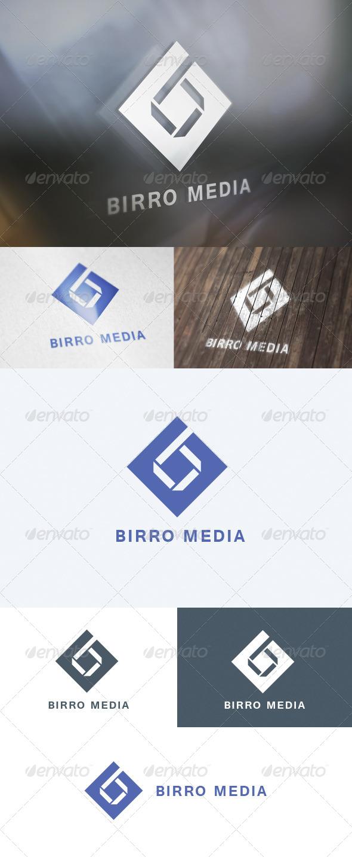 GraphicRiver Birro Media Logo 5705649