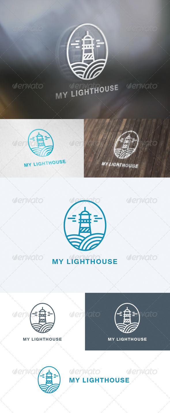 GraphicRiver My Lighthouse Logo 5706214