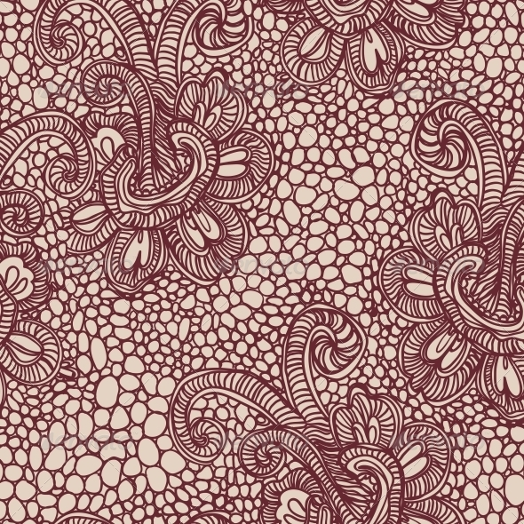 GraphicRiver Lace Seamless Background 5714595