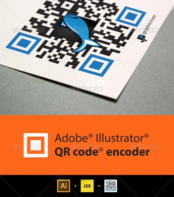 GraphicRiver QR Code encoder for Illustrator 5714695