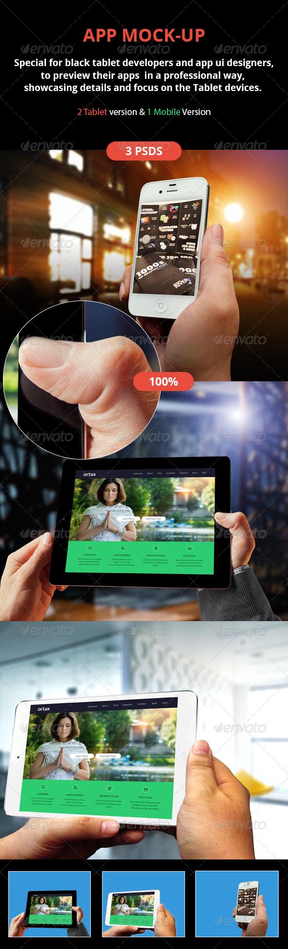 GraphicRiver Smart Mockup 5551638