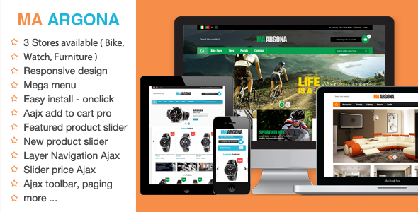MA ARGONA - Responsive Magento Theme - Magento eCommerce