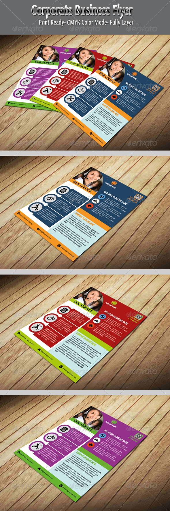 GraphicRiver Corporate Business Flyer 5715590
