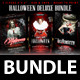 Halloween Deluxe Bundle (4x6 Flyer Template)