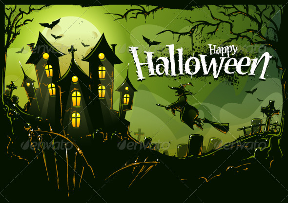 GraphicRiver Halloween Background 5716260