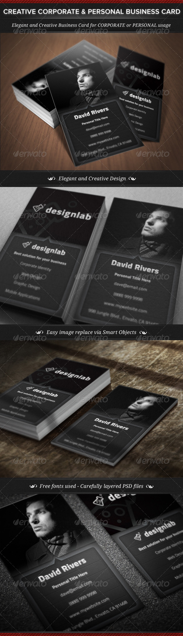 GraphicRiver Creative Corporate & Personal Business Card 5716665