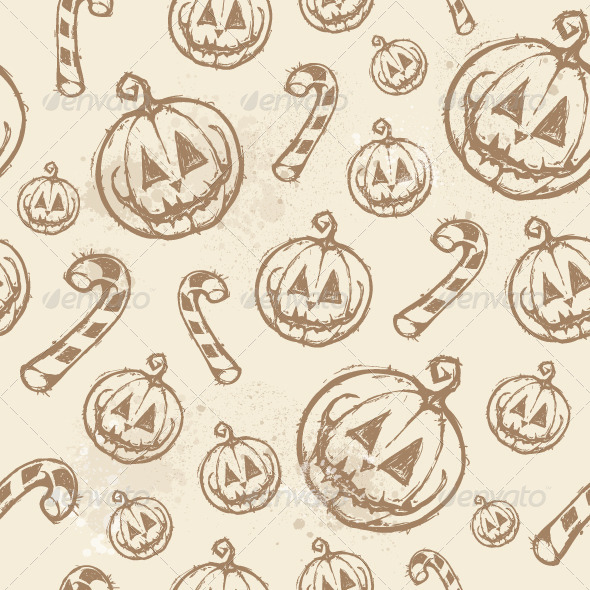 GraphicRiver Halloween Seamless Texture 5716678