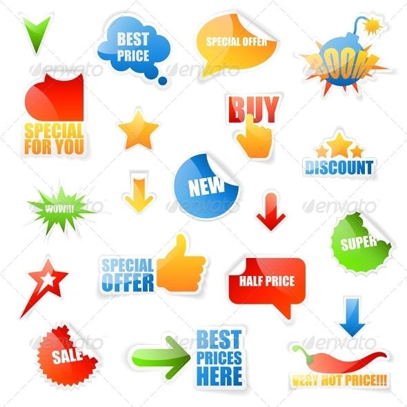 GraphicRiver Sale Labels 5716885