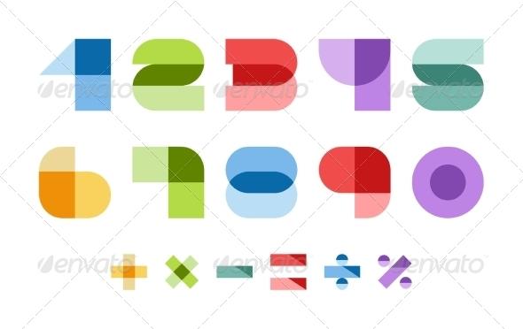 GraphicRiver Colorful Font 5716918