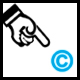 copyright logo always positioned bottom-right of browser - ActiveDen Item for Sale