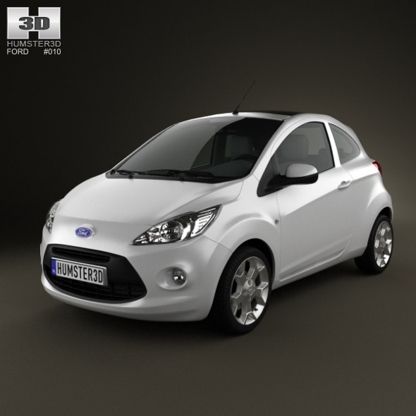 3DOcean Ford Ka 2009 588800