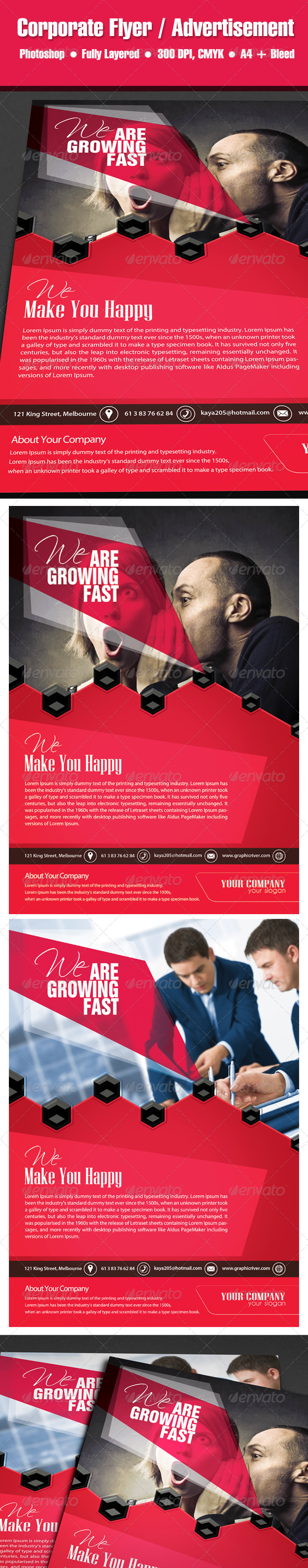 GraphicRiver WE Corporate Flyer Ad Template 5717937