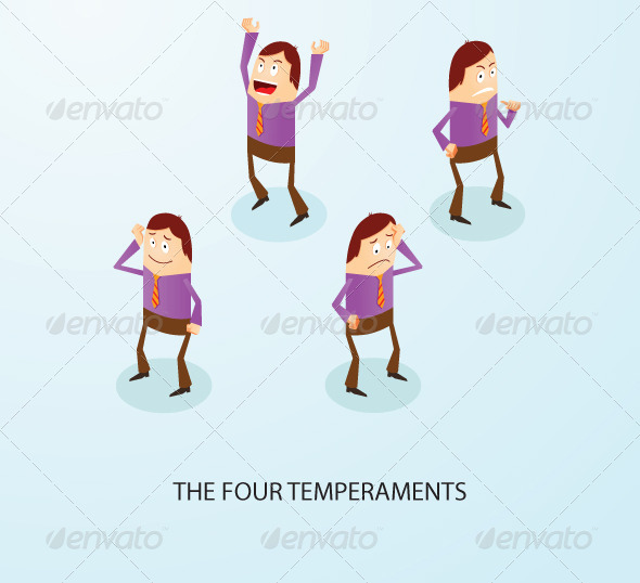 GraphicRiver Four Temperaments 5718274