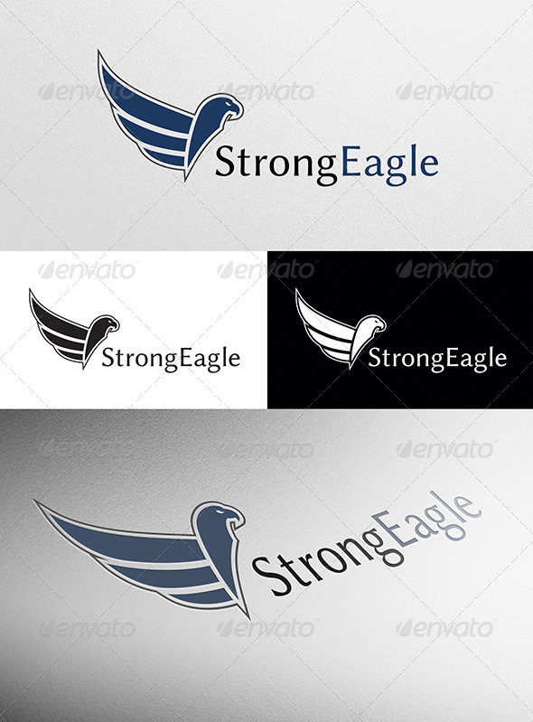 GraphicRiver Strong Eagle 5718631
