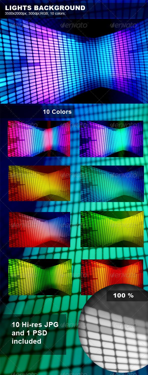 Lights Background - Tech / Futuristic Backgrounds