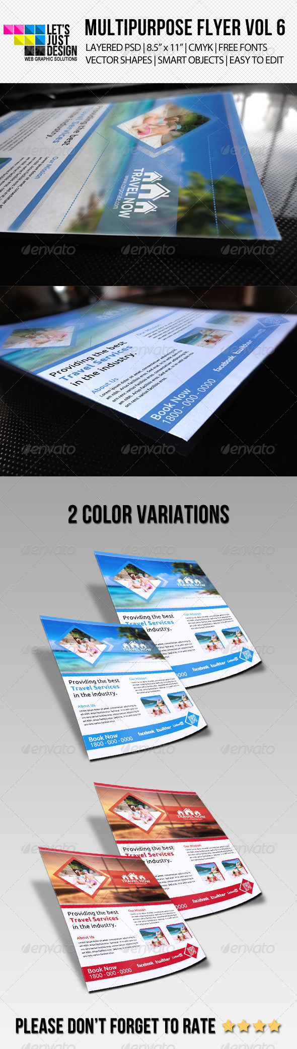 Multipurpose Flyer Template Vol 6 - Commerce Flyers