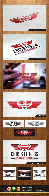 GraphicRiver FitChamp Logo 5713282