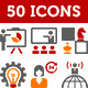 Business And Advertising Agency Icons - GraphicRiver Item for Sale
