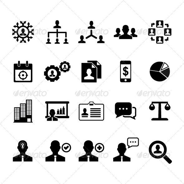 GraphicRiver Management Icon 5720236