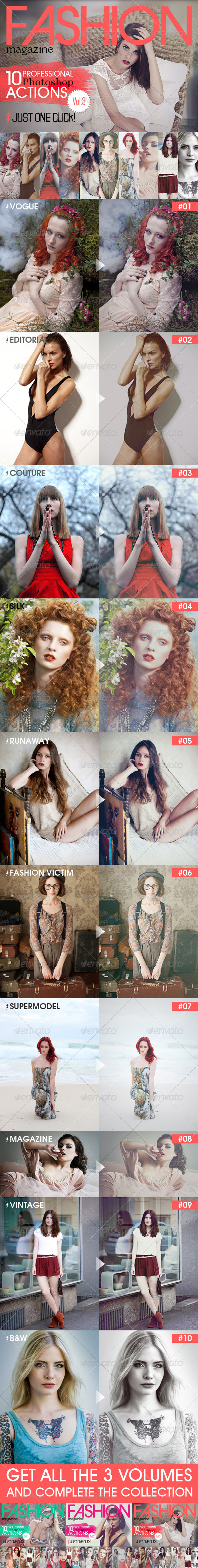 GraphicRiver 10 Professional Actions Vol.3 5698604