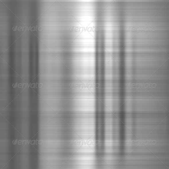 Metal background or texture of light brushed steel plate - Stock Photo - Images