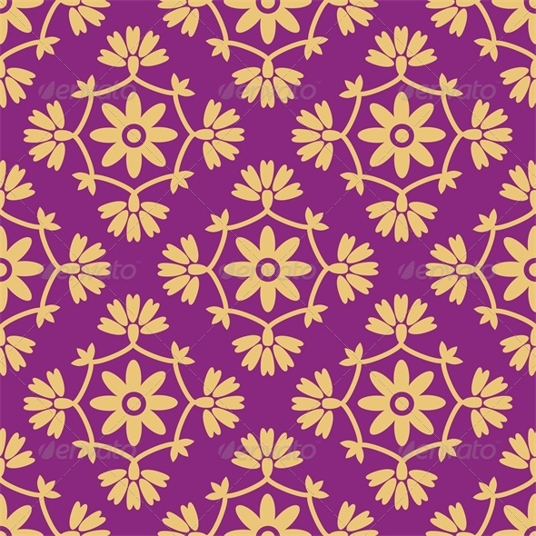 GraphicRiver Damask Pattern 5722034