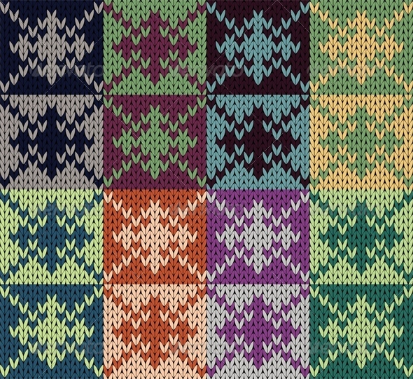 GraphicRiver Knit Patchwork 5722041