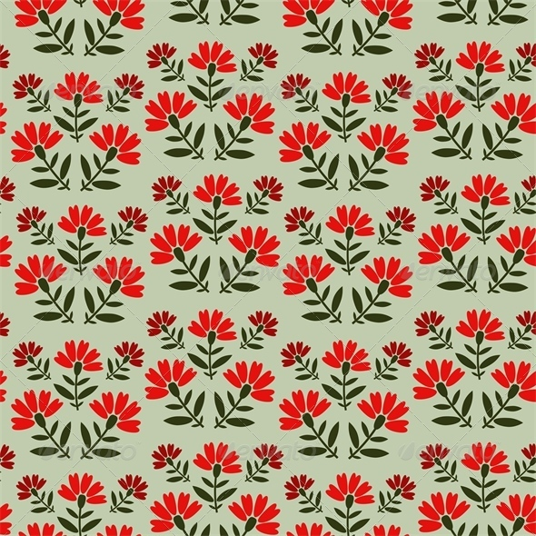 GraphicRiver Floral Pattern 5722072