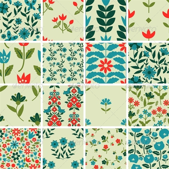 GraphicRiver Pattern Set 5722077