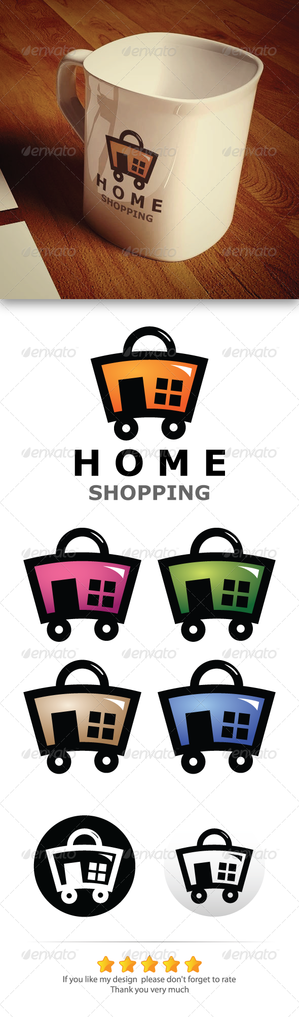 GraphicRiver Home Shopping 5722133