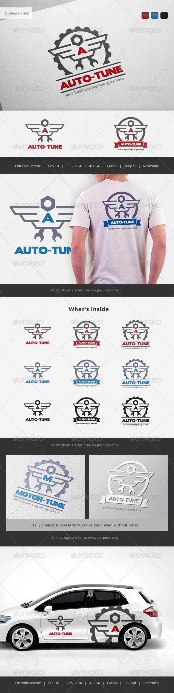 GraphicRiver Auto Tune Logo 5722706