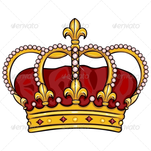 GraphicRiver Cartoon Royal Crown 5722729