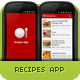 Recipes App - CodeCanyon Item for Sale