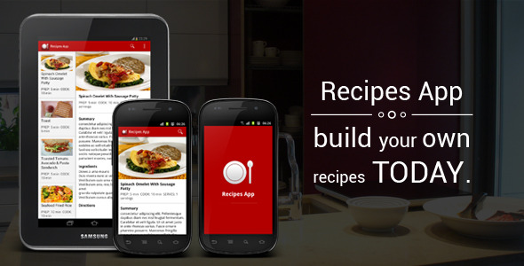 Recipes app mobile android full applications themesquirrel forumfinder Gallery