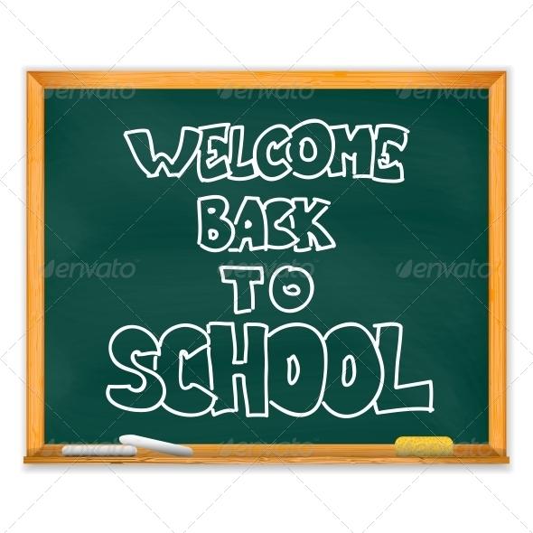 GraphicRiver School Chalckboard 5722976
