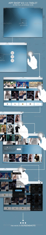 GraphicRiver App Shop V.5 for Tablet 5723314