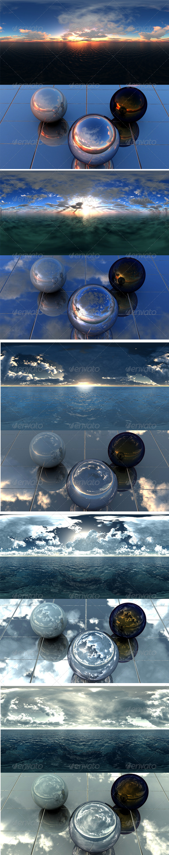 Pack - Sea 14 - 3DOcean Item for Sale