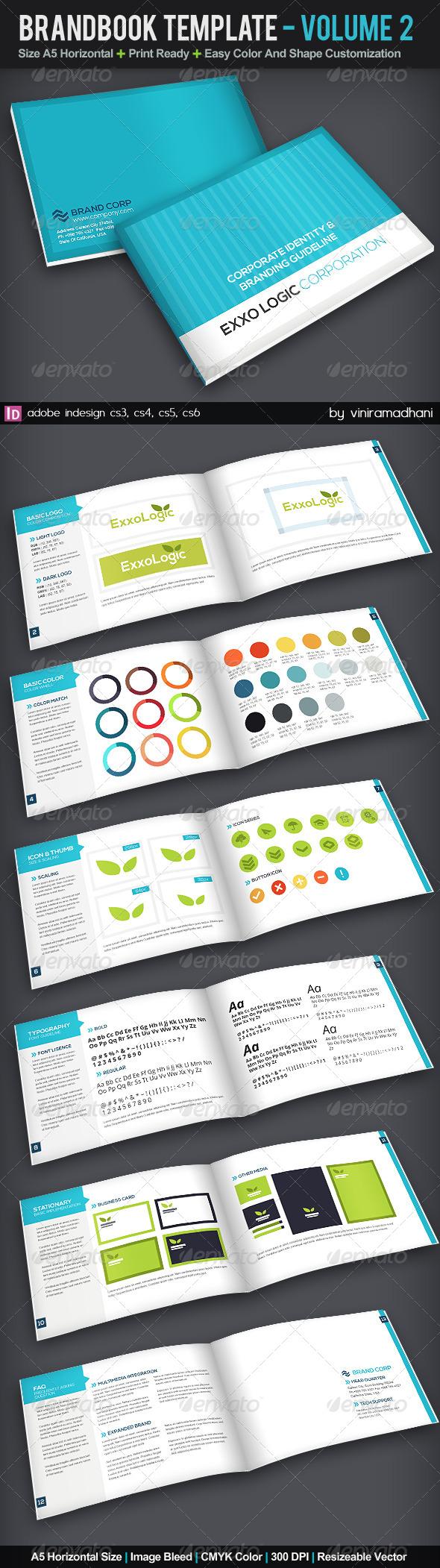 GraphicRiver BrandBook Template Volume 2 5723482