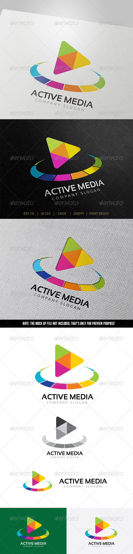 GraphicRiver Active Media Logo 5723487