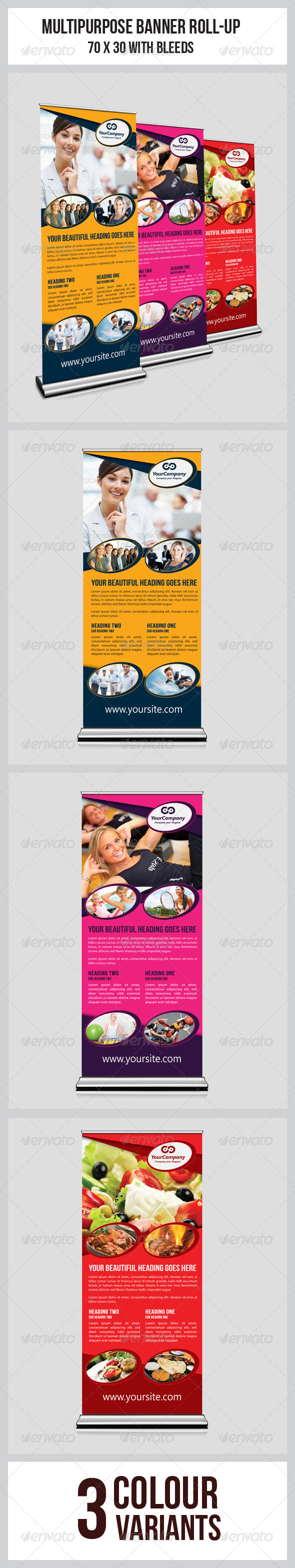GraphicRiver Multipurpose Business Roll-Up 5723861