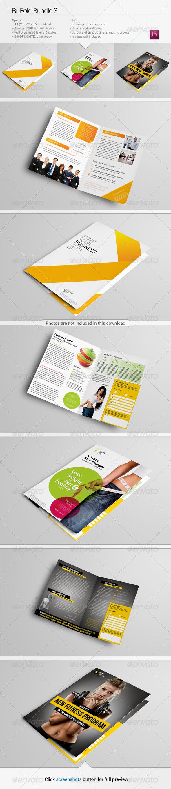 GraphicRiver Bi-Fold Bundle 3 5724178