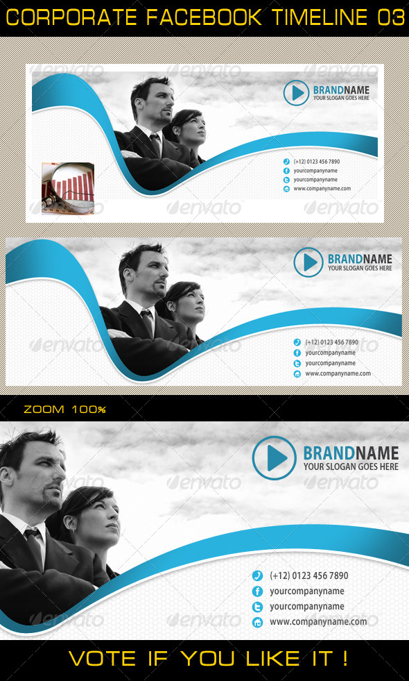 GraphicRiver Corporate Facebook Timeline 03 5725886