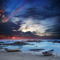 Boats moored by the wave line - PhotoDune Item for Sale
