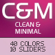 C&M 40 in 1 Clean & Minimal Wordpress Theme - ThemeForest Item for Sale